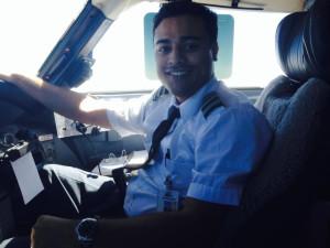 Flight Instructor Harold Johny